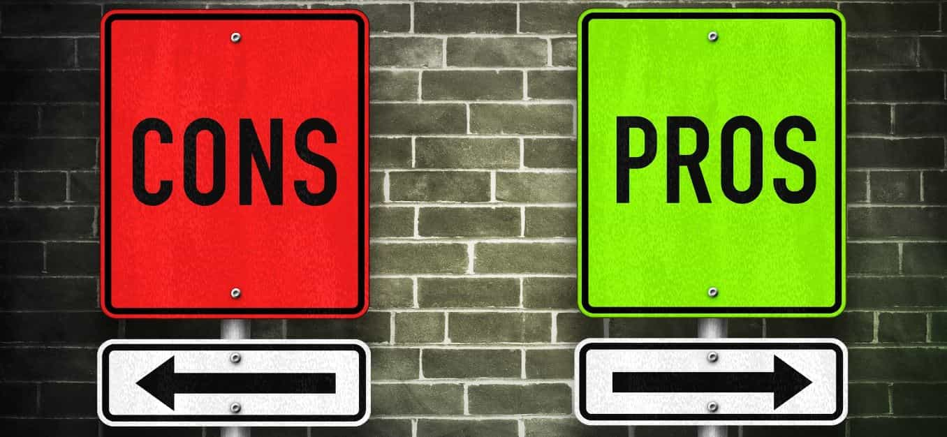 Pros and cons street paint