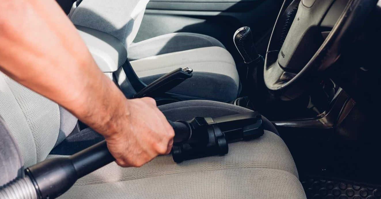 Man pulling the emergency brake