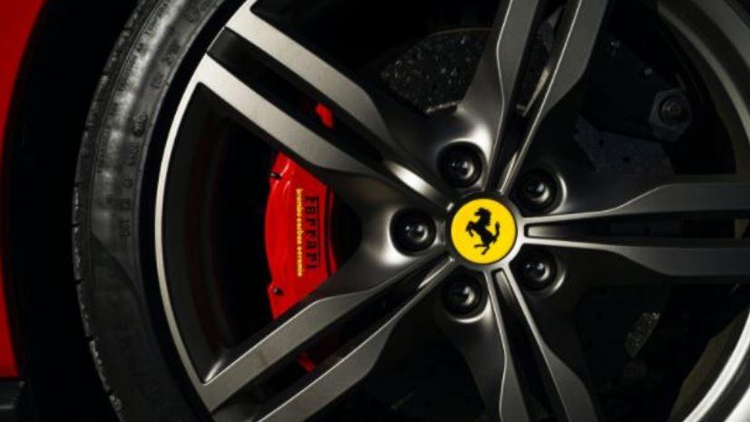 Ferrari wheel close up